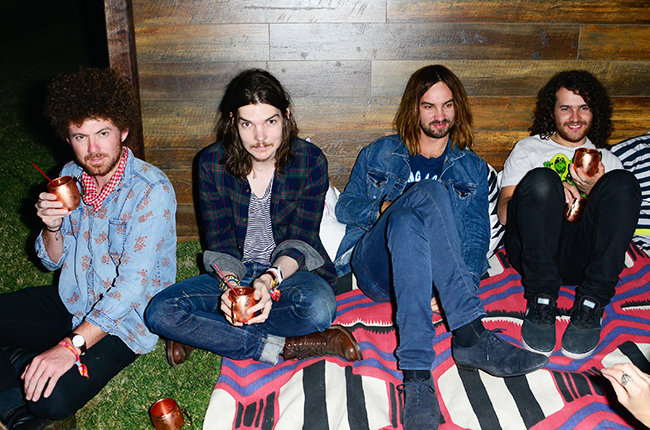 LA QUINTA, CA - APRIL 11: Tame Impala attends Soho Desert House on April 11, 2015 in La Quinta, California. (Photo by Michael Bezjian/Getty Images for Soho House)